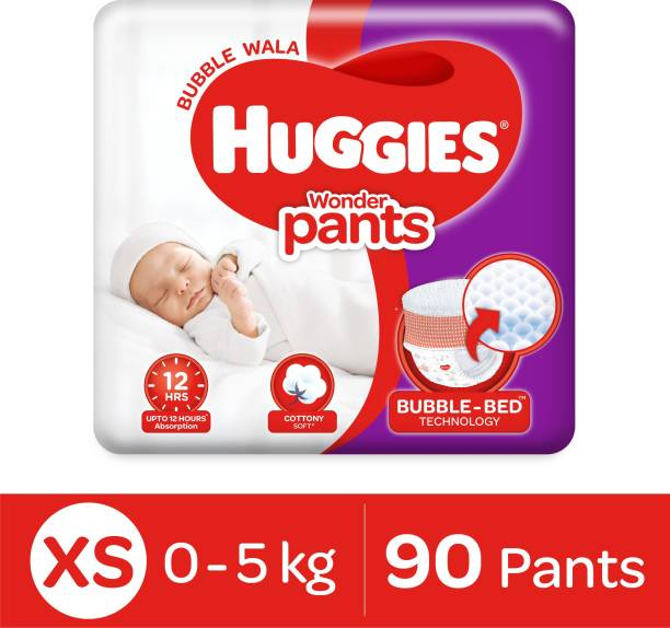 Huggies Wonder Pants with Bubble Bed Technology - XS
