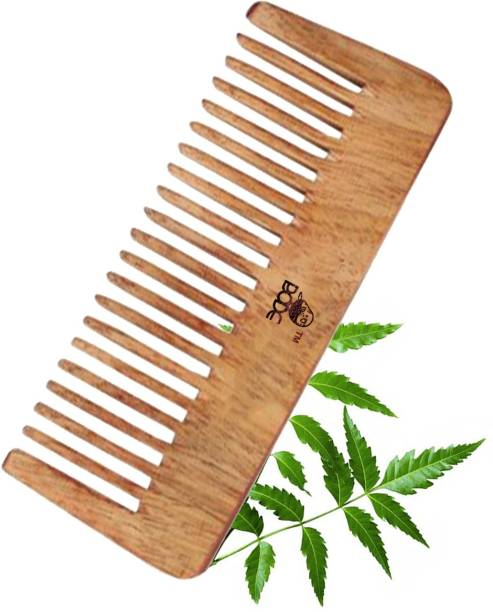 BODE Handmade Neem Wooden Tooth Comb