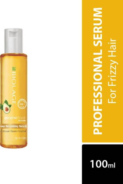 Biolage SmoothProof Deep Smoothing 6-in-1 Hair Serum for Frizzy Hair,Smoothens Rough Ends,Adds Instant Shine,Paraben Free