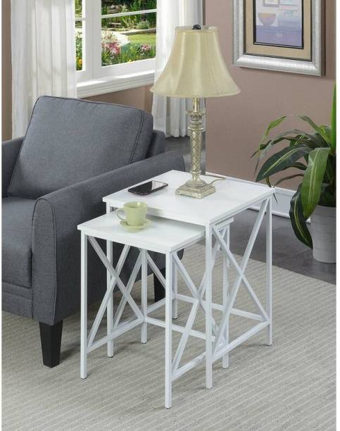 Furnville Engineered Wood Nesting Table