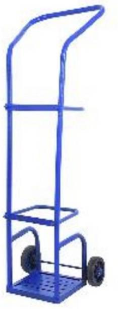 IFB Hospital Cylinder Trolley (lARGE) Floor Mount Oxygen Cylinder Holder