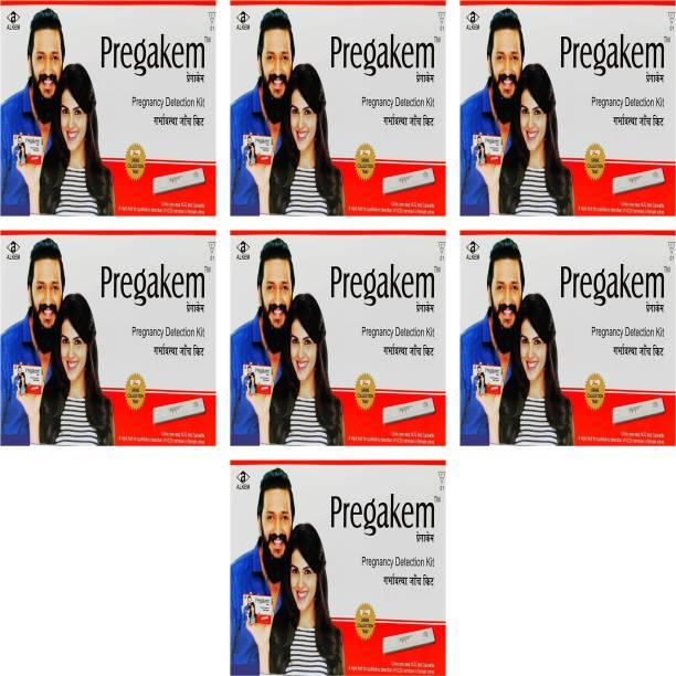 pregakem Pregnancy Detection Kit Pack Of 7 Digital Pregnancy Test Kit