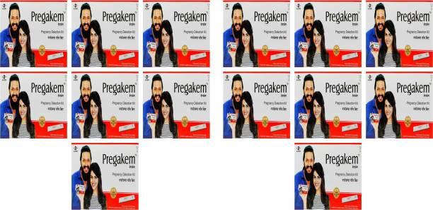 pregakem Pregnancy Detection Kit Pack Of 14 Digital Pregnancy Test Kit