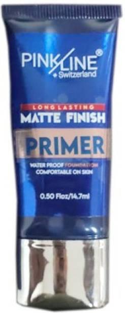 Pink line Matt Finish Long Lasting  Primer  - 15 ml