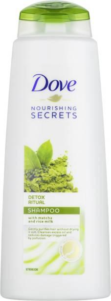 DOVE Nourishing Secrets Detox Ritual Shampoo For Damaged Hair