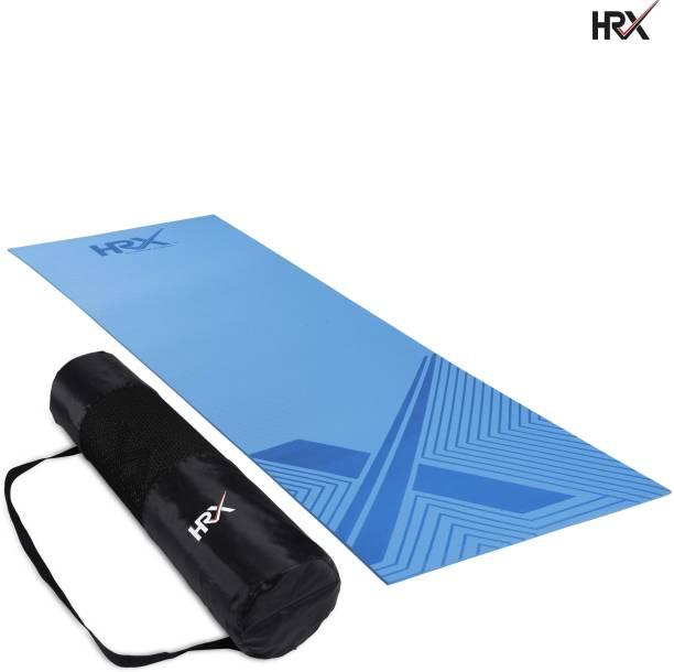 HRX Anti Skid Pure EVA - Designer with Bag Blue 6 mm Yoga Mat