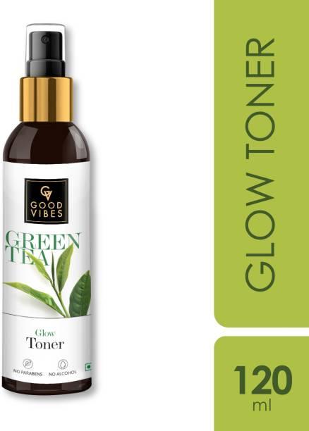 GOOD VIBES Glow Toner - Green Tea Men & Women