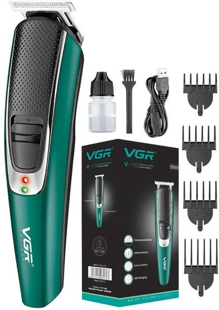 VGR V-176 Cordless Professional Hair Clipper  Runtime: 120 min Trimmer for Men