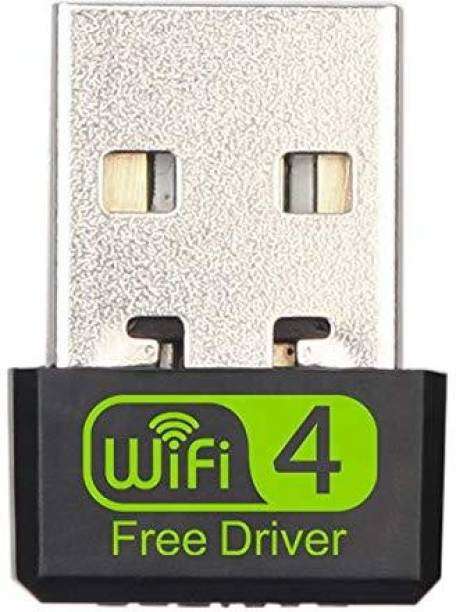 Smacc Wifi Adapter for PC,Laptop, USB wifi Dongle small size, wi-fi Receiver 150-1200MBPS, Wireless signal Strength Network Card, wi-fi Receiver device for Desktop, Support - Only Windows XP/Vista/7/8/10 ( Driver Free - Plug and Play) USB Adapter
