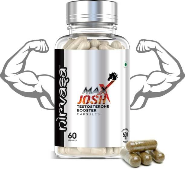 Nirvasa Maxx Josh Testosterone Booster Supplement for Men
