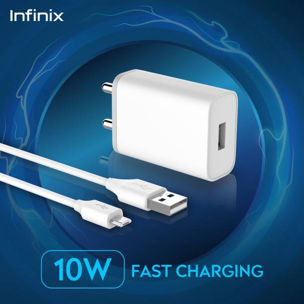 Infinix CU-60IX 10 W 2 A Mobile Charger with Detachable Cable