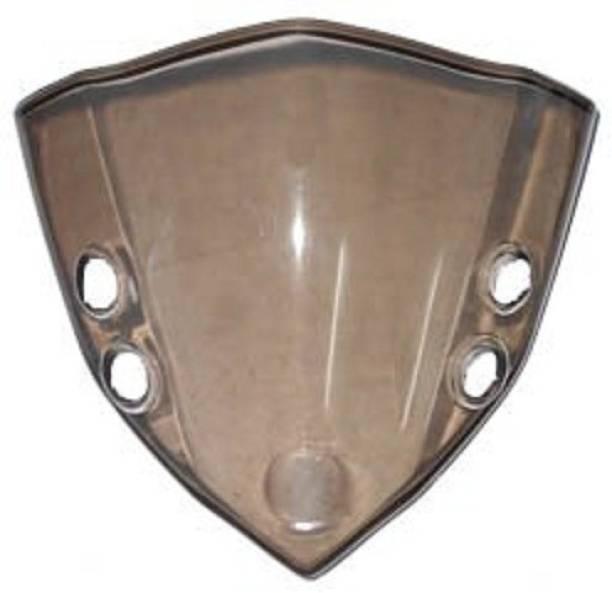 zalak VISOR GLASS FZ (BLACK) Bike Headlight Visor