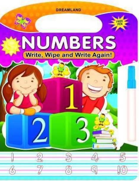 Numbers - Write, Wipe and Write Again!