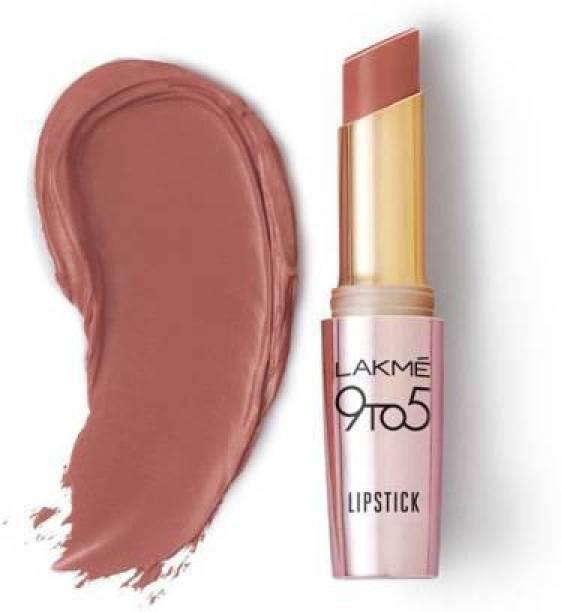 Lakmé 9TO5 Primer + Matte Lip Color (Nude Touch, 3.6 g)