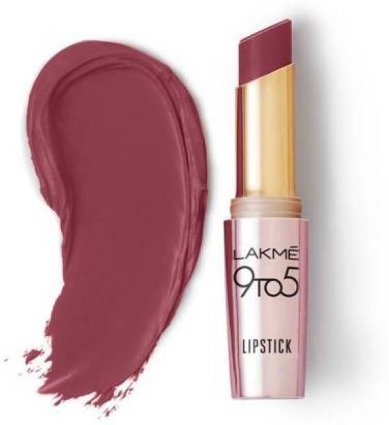 Lakmé 9TO5 Primer + Matte Lip Color (Pink Party, 3.6 g)