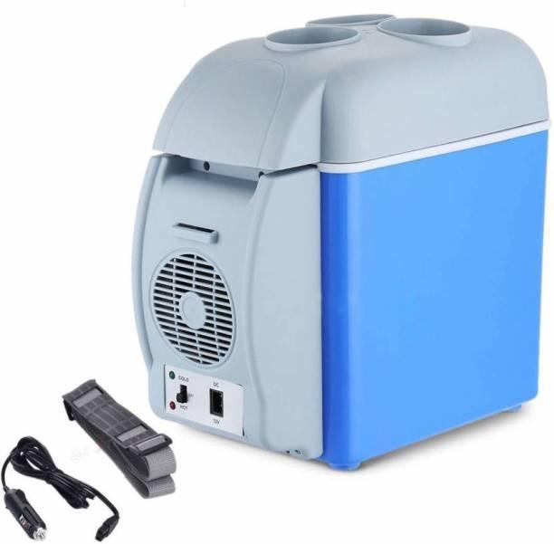 DIVYA MART CAR FRIDGE Portable Car Refrigerator Electric Cooler and Warmer Car Refrigerator Portable Mini Fridge 7.5L Portable Car Refrigerator Electric Cooler and Warmer Car Refrigerator 7.5 L Car Refrigerator