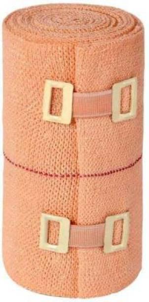 A M TRADERS Premium Cotton Crepe Bandage For Wrist, Arm, Shoulder, Ankle, Calf Pain Crepe Bandage Crepe Bandage Crepe Bandage Crepe Bandage