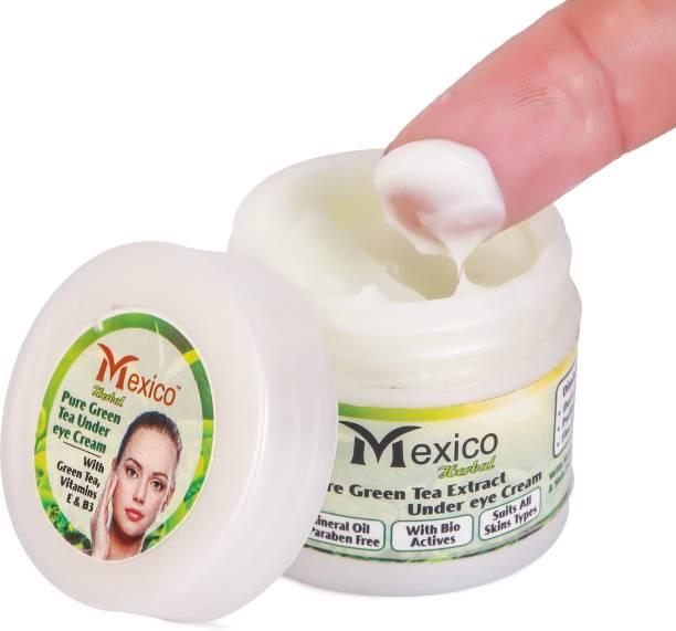 Mexico Organic ALOEVERA Under Eye Cream Gel for Dark Circles, Puffy Eyes, Wrinkles & Removal Of Fine Lines for Women & Men