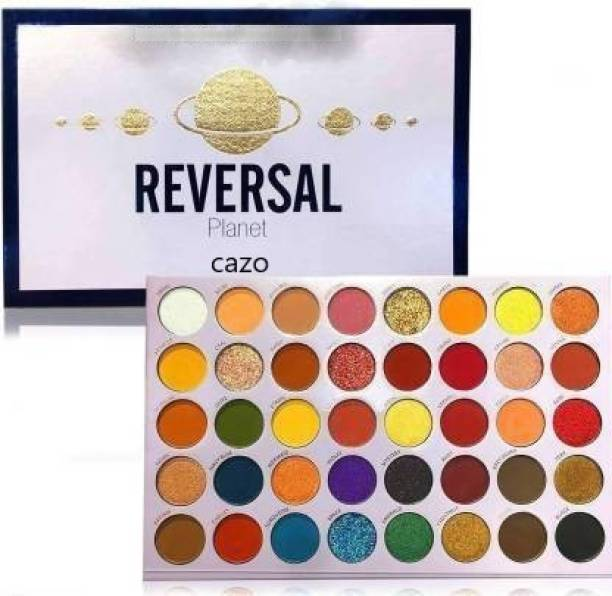 CAZO Colorful Charm EyeShadow Reversal Planet Makeup Pallete (MULTICOLOR) 250 g