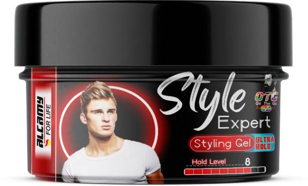 Alcamy Style Expert Ultra Hold Styling Gel (Hold Level 8/10) Hair Gel