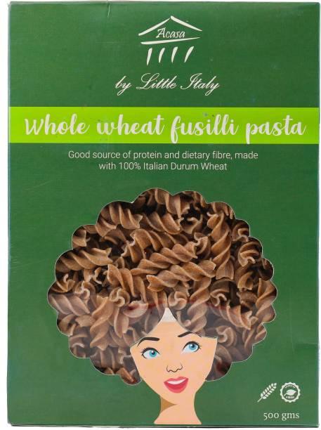 Little Italy Acasa Whole Wheat Fusilli Pasta - 500 grams Fusilli Pasta
