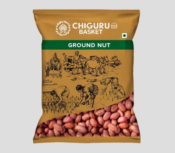 Chiguru basket Brown Raw Peanut (Whole)