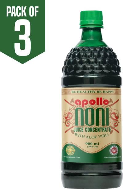 Apollo Noni With Aloevera Juice Concentrate Caramel