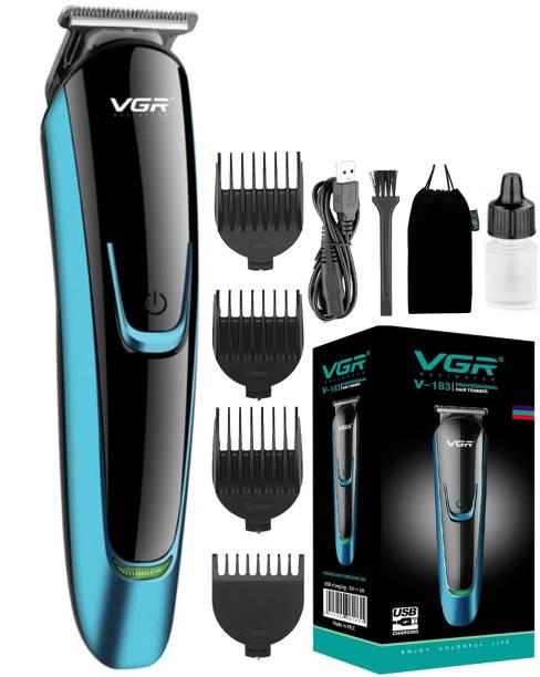 VGR V-183 Professional Rechargeable Hair Trimmer  Runtime: 120 min Trimmer for Men