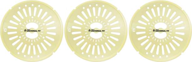 LSRP's Universal Fit Spin Cap Suitable With LG 7.5KG To 8KG Washing Machine - Spin Cover - Spinner Safety Cover - Dryer Safety Lid (26CM/10.2IN Diameter) - Yellow - Pack Of 3 Caps Washing Machine Net