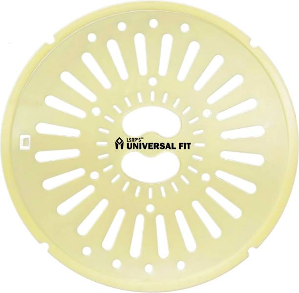LSRP's Universal Fit (26CM / 10.2 Inches) Universal / lg spin cap/ spinner safety cover for Semi Automatic Washing Machine - Yellow - Pack Of 1 Washing Machine Net