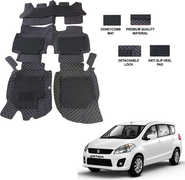 AUTORACE Leatherite 7D Mat For  Maruti Suzuki Ertiga