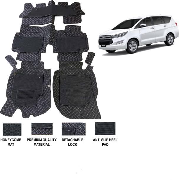 AUTORACE Leatherite 7D Mat For  Toyota Innova Crysta