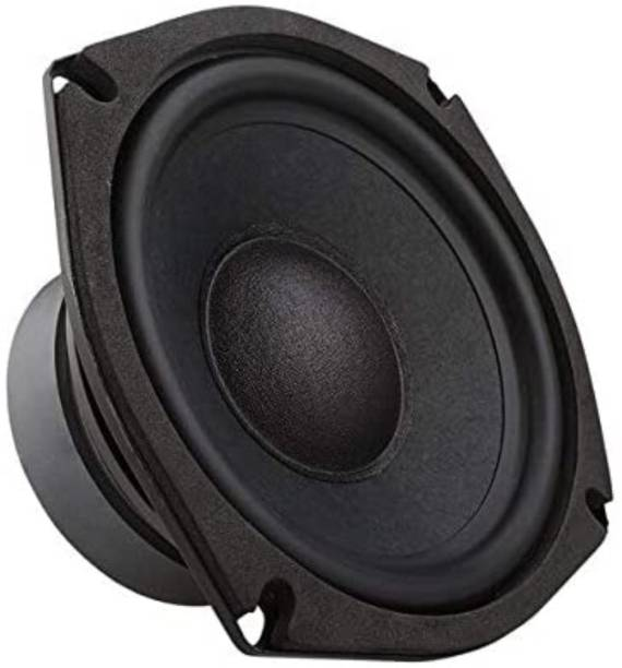 Zengvo 4 Inch Powerful Subwoofer Zengvo (mooncoice) 4 Inch Subwoofer 4 Ohm 30 Watt for Home Theater Subwoofer (Passive , RMS Power: 30 W) 4'' inch woofer Audio Speaker 4ohm 50w HI-FI Speaker Sound Bass Subwoofer Subwoofer