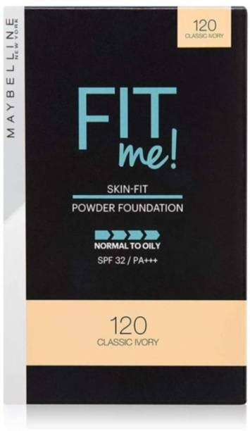 MAYBELLINE NEW YORK FIT ME 120 CLASSIC IVORY COMPACT POWDER (9 G X 1 PCS) Compact