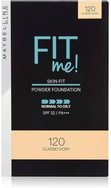 MAYBELLINE NEW YORK FIT ME 120 CLASSIC IVORY COMPACT POWDER 9 G PACK OF 1 Compact
