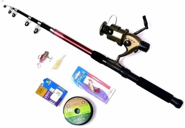 Brighht Cobra King Fishing Rod Set B17 CTR406 Red Fishing Rod