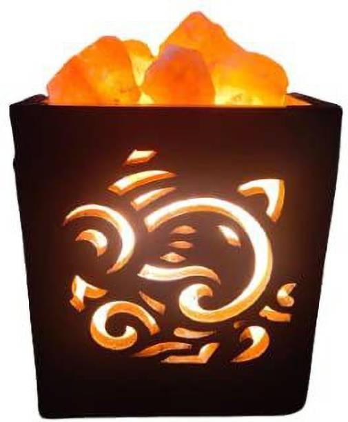Namah himalayan rock salt lamp For Positive energy Table Lamp