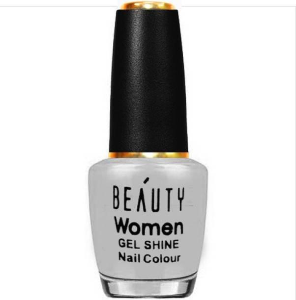 Beauty Women Gel Stylist Longwear L-A-K-M-E Nail Color Light Grey grey
