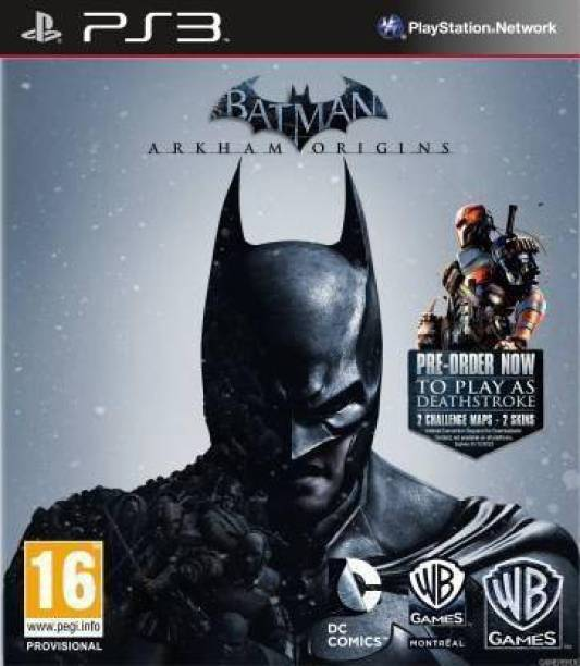 Batman: Arkham Origins ONLY FOR PS3 (for PS3)