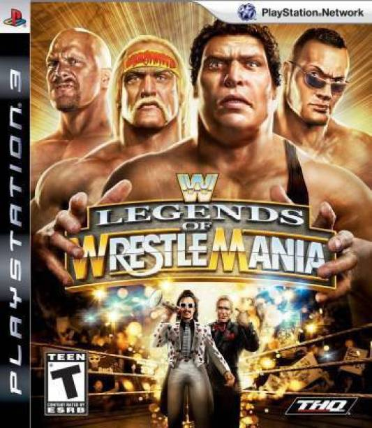 WWE Legends of Wrestlemania (for PS3) (STANDERED)