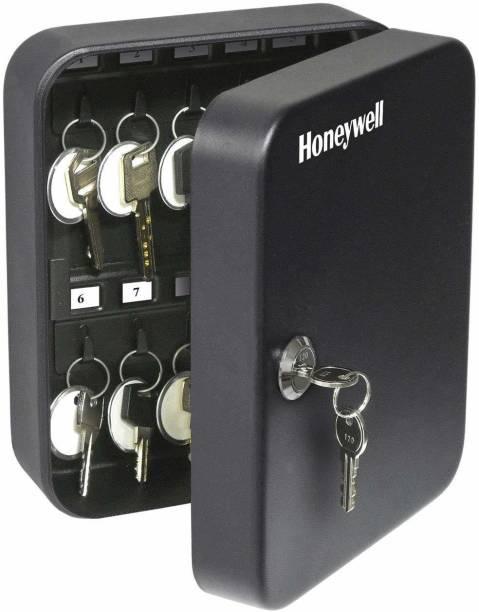 Honeywell Safes - 6105 Steel 24 Key Security Box, 0.07-Cubic Feet, Black, 3.1x6.5x7.8 Safe Locker