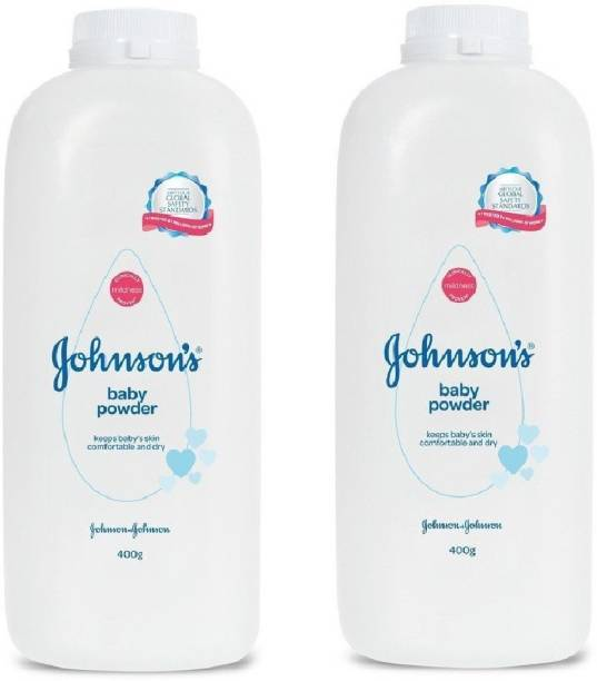 JOHNSON'S Johnson's Baby Powder Pack of 2 (400x2 800gram)