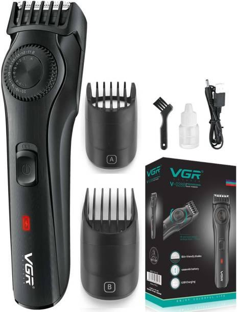 VGR V-028B Professional Rechargeable Hair Clipper  Runtime: 90 min Trimmer for Men