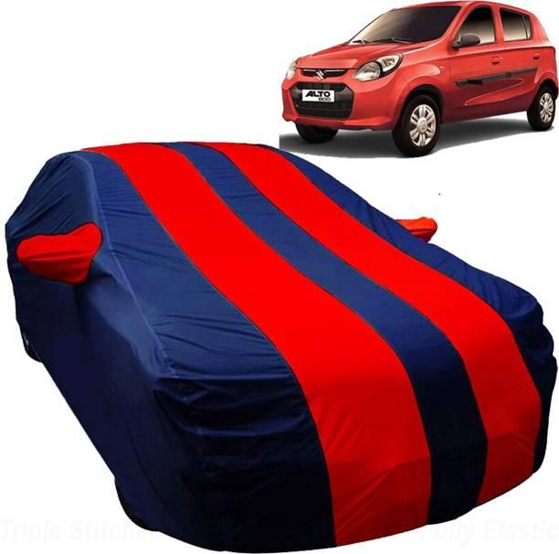 UK Blue Car Cover For Maruti Suzuki Alto 800 (With Mirror Pockets)