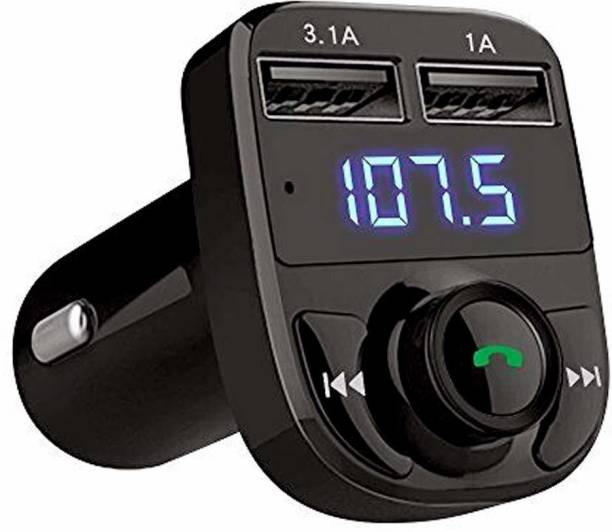 aybor v4.0 Car Bluetooth Device with FM Transmitter, USB Cable, MP3 Player, Audio Receiver