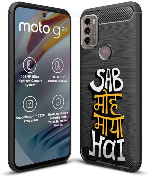 Fashionury Back Cover for Motorola G40 Fusion, Motorola G60