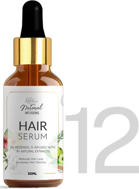 Natural Infusions Hair Growth Serum with 5% Redensyl (Pack of 12)