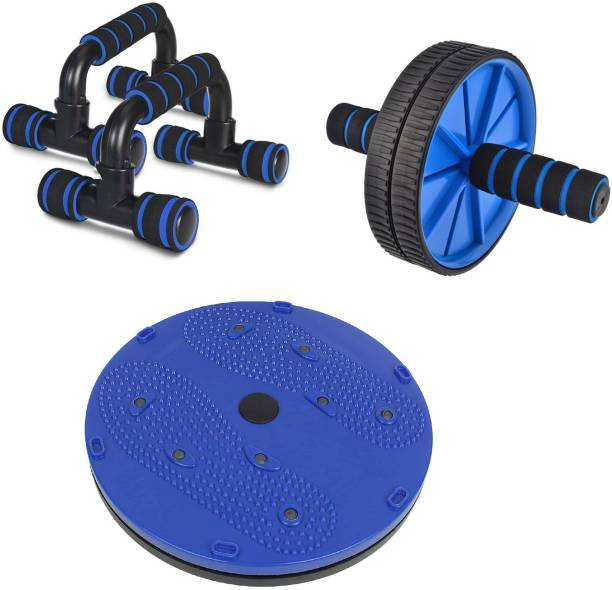 LIVOX Tummy Twister Abdominal ABS Exerciser And Ab Roller, Push up Bar Ab Exerciser