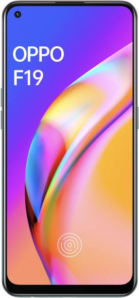 OPPO F19 (Space Silver, 128 GB)
