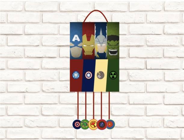 Simply Good Simply Good Avengers Theme Pinata Pull String Birthday Party / Goodies Bag 1 pc Pull String Pinata